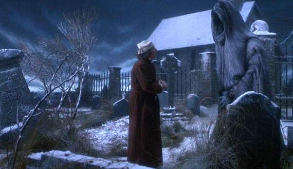 Ghost Of Christmas Future Muppets.The Muppet Christmas Carol B Henson 1992